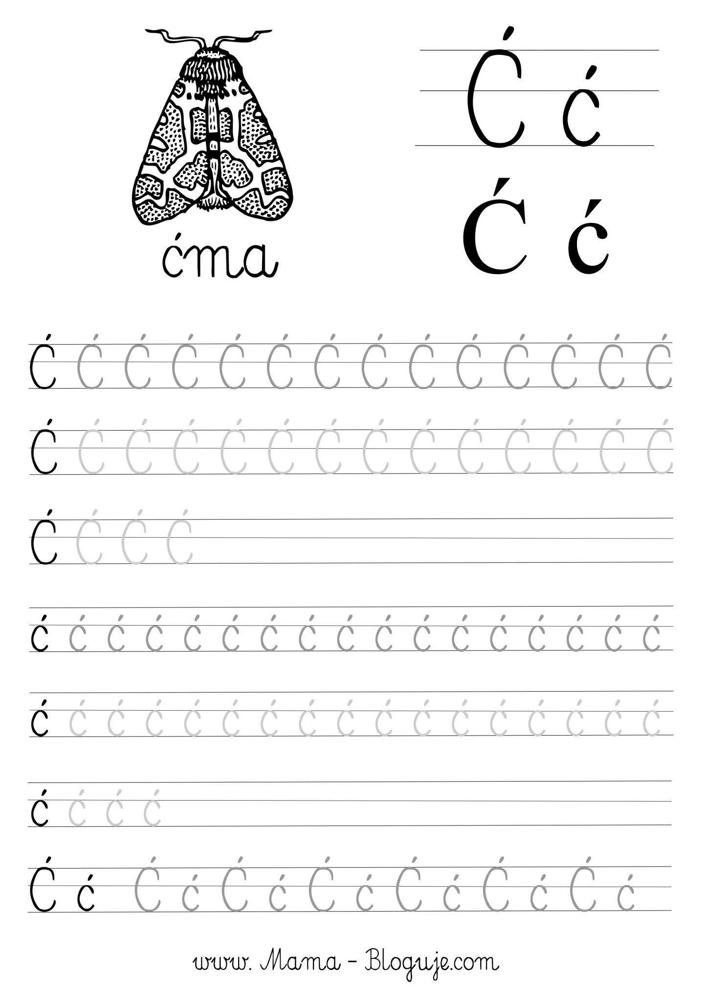 Szablony Do Nauki Pisania Polskie Literki Cz 3 Do Pobrania Easter Preschool Teaching Lettering