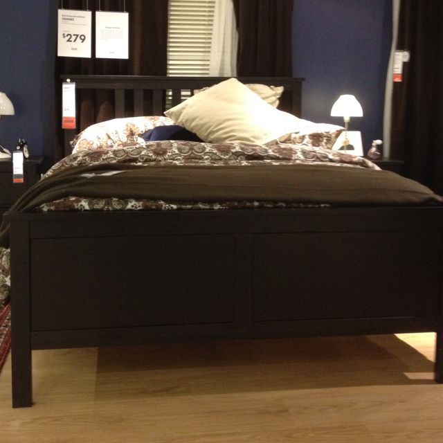 Hemnes bed from IKEA For the Home Pinterest