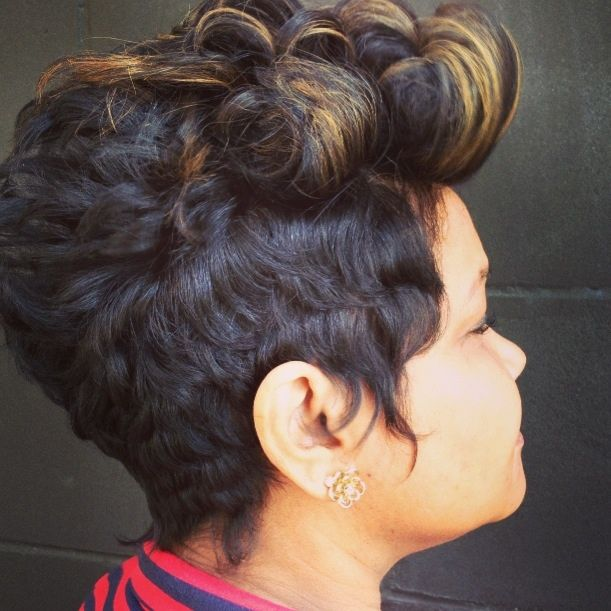 River Hair Salon In Atlanta Short Hair Dont Care Like The River