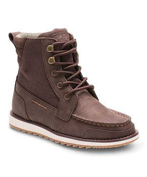 4f593fbbe04459 Brown Dockyard Leather Boot
