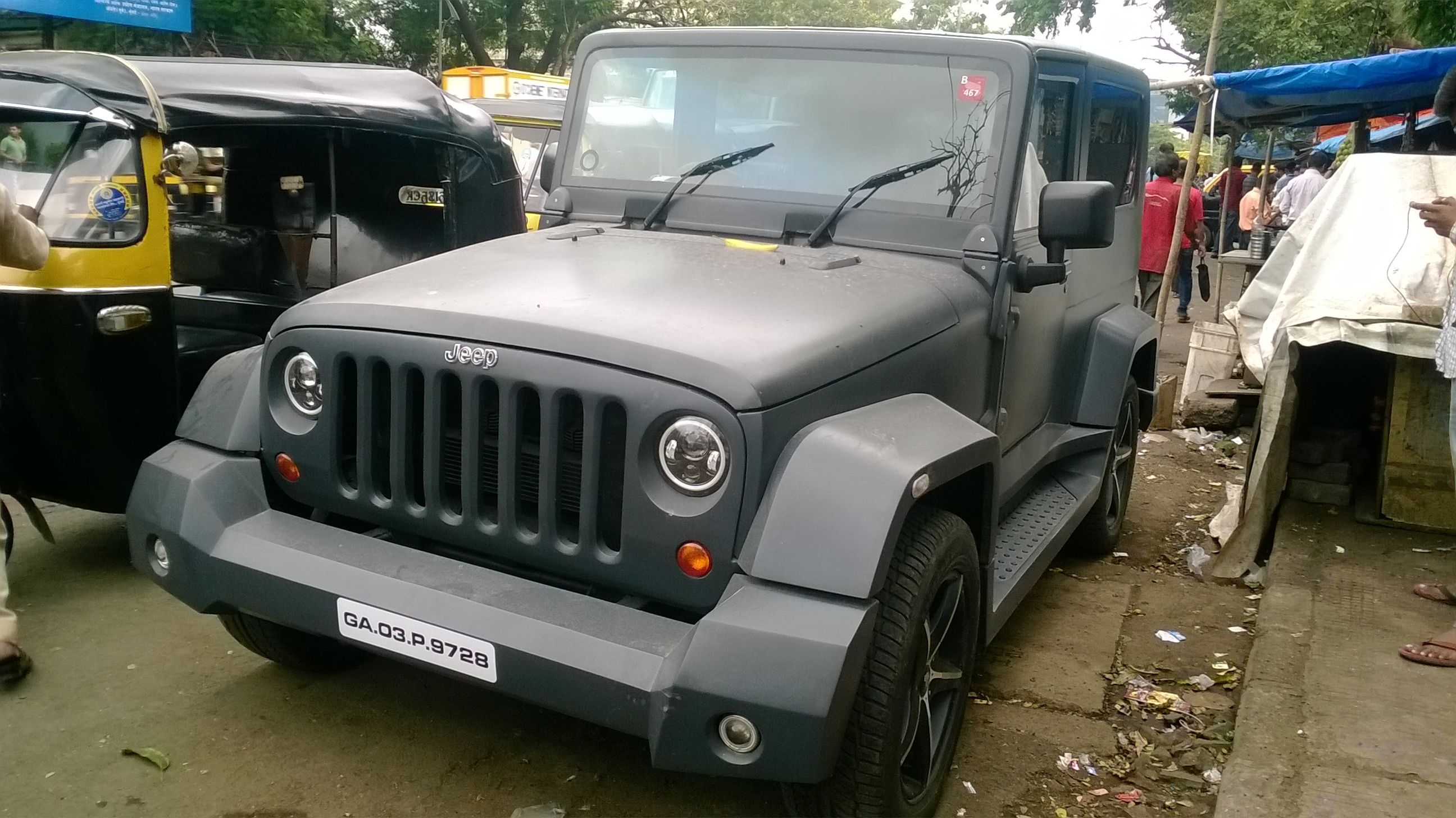 This Custom Built Mahindra Thar Lookalike Is All You Wanted