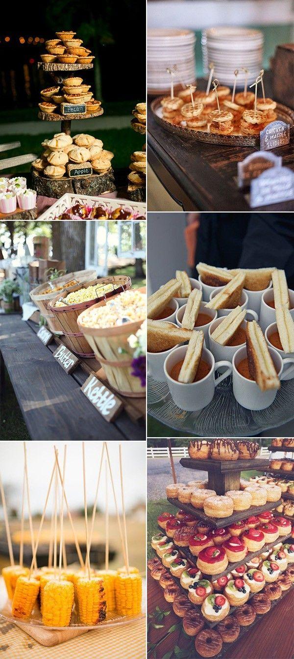 25 Fall Wedding Food Ideas Your Guests Will Love #fallweddingideas