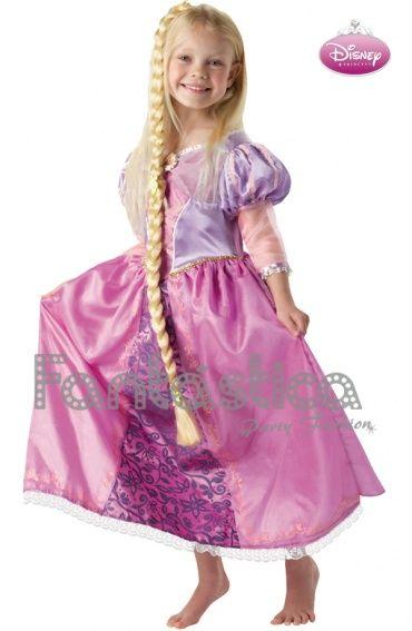 Disfraz Para Nina Princesa Disney Rapunzel Disfraz Original De