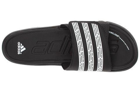 76f549f0428f6e adidas adilight SUPERCLOUD® Slide Black White - Zappos.com Free Shipping  BOTH Ways