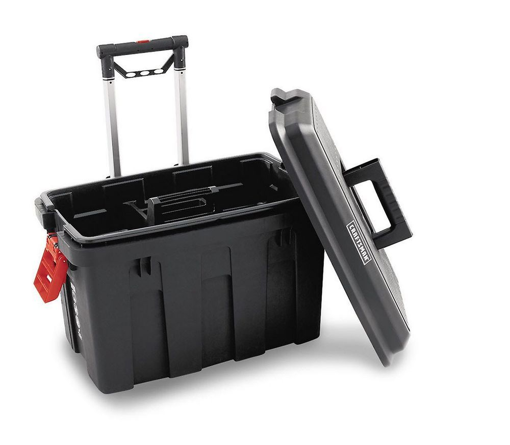 Craftsman Rolling Tool Box Sit Box Stand Box Tote Box for Travel ...