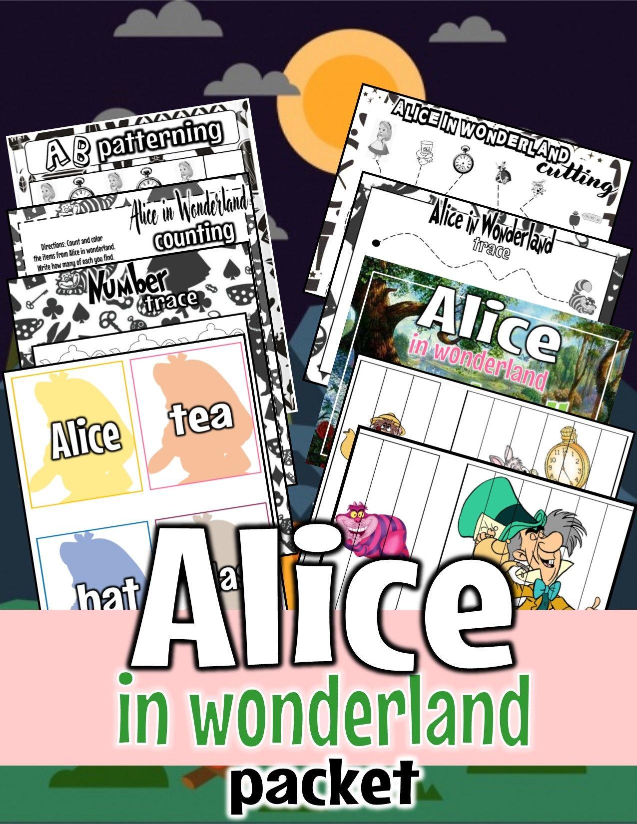 A Week Of Alice In Wonderland