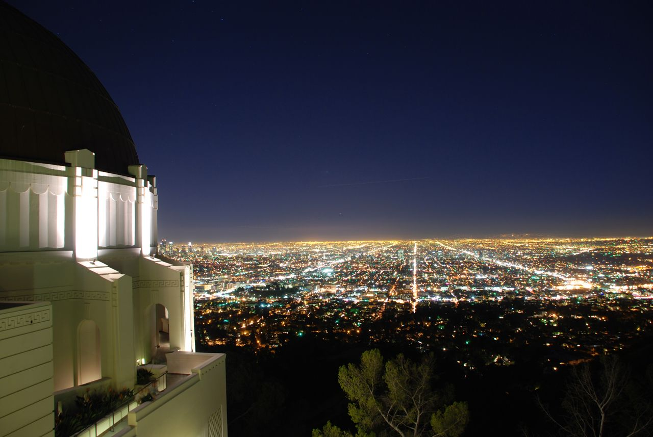 La Dolce Vita Global Architecture Los Angeles Griffith Observatory Observatory Places