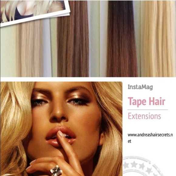 40 Pc 20 Tape Extensions 22 Champagne Blonde Boutique Tape