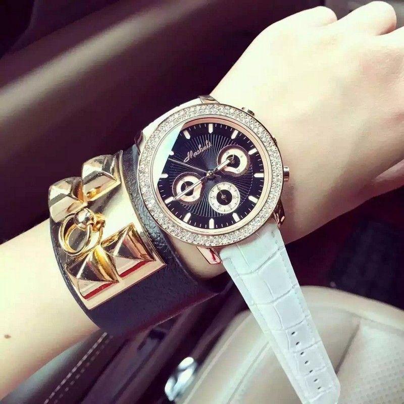 >> Click to Buy << New Brand Fashion Watch Women Dress Quartz-Watch Golden Ladies Leather Wristwatch Waterproof Clocks relojes mujer 2016 #Affiliate