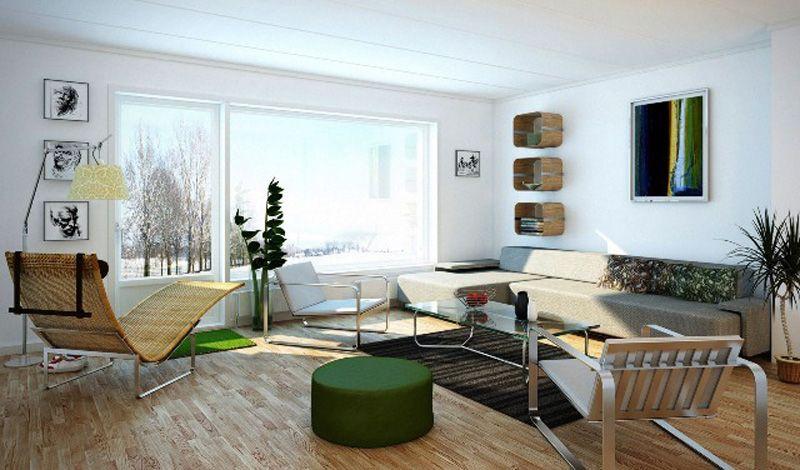 Modern and Minimalis Family Room Interior Design