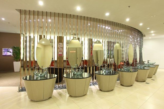 special make up room for ladies Quelle Singapore Changi Airport - badezimmer quelle