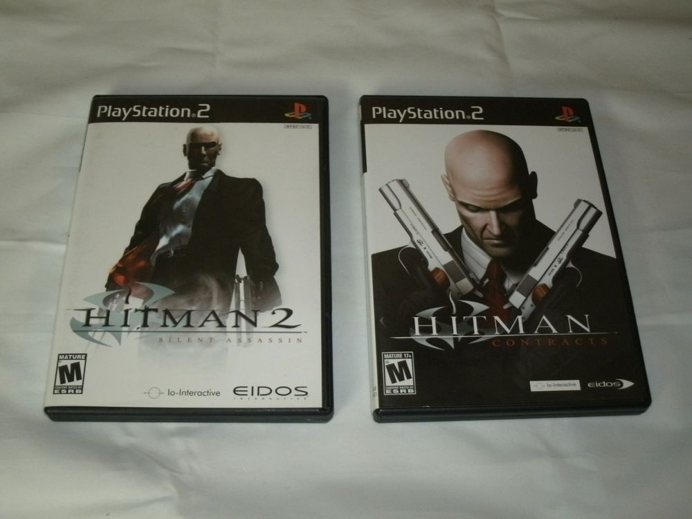Sony Playstation 2 Ps2 Hitman 2 Silent Assassin And Hitman