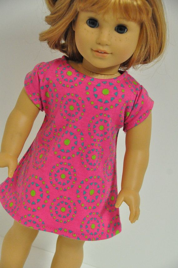American Girl Doll Clothes Cute Pink Summer by CircleCSewing ...