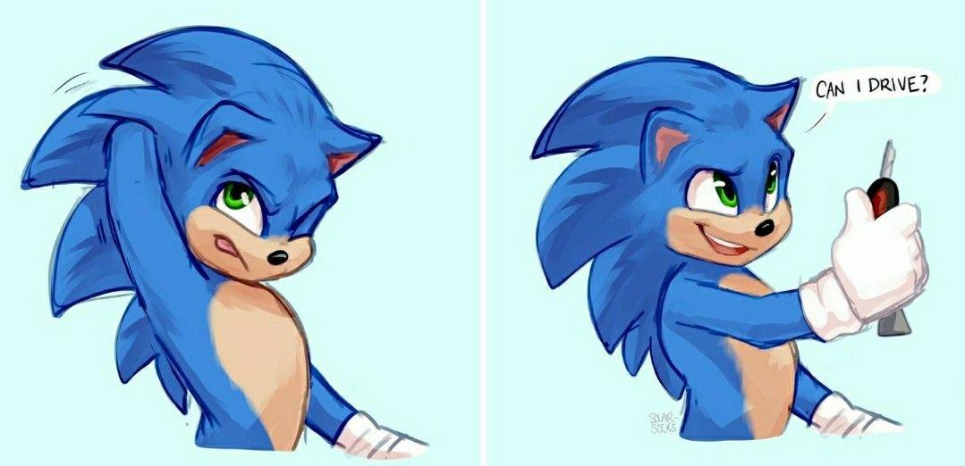 Sonic Movie Fanart From Solar Socks On Instagram In 2020 Sonic Hedgehog Art Hedgehog Movie