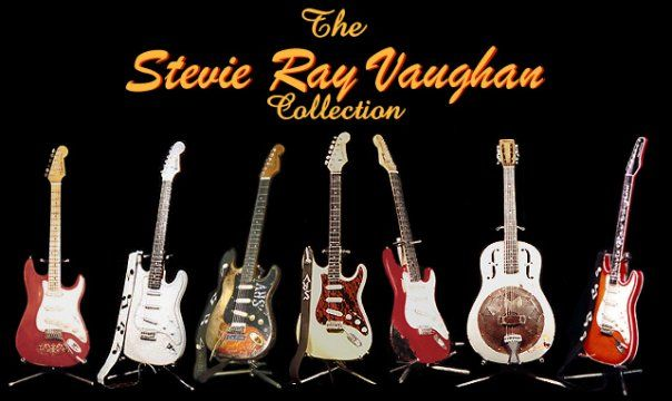 Stevie's Guitar Collection.....