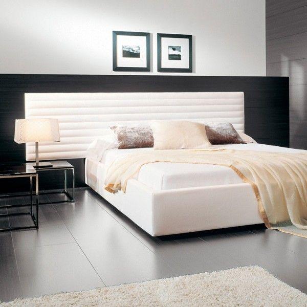 Comprar online cama alma cabezal con aro opcional - Cabezal de cama tapizado ...