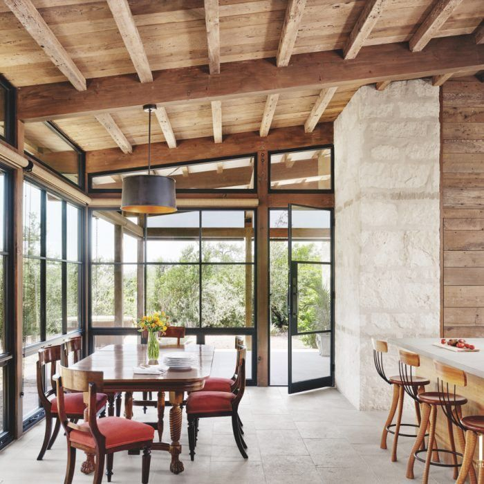 This Texas Hill Country Home Gives A Nod To The Past is part of This Texas Hill Country Home Gives A Nod To The Past - You'll find a little bit of history in every space of this abode
