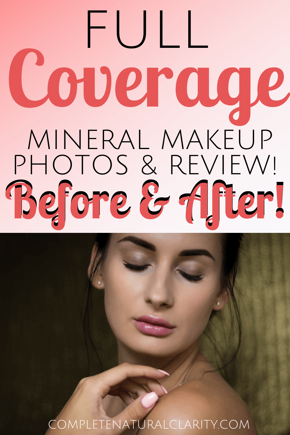 Pure Anada Full Coverage Mineral Foundation Routine with