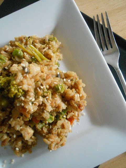 """Slow Cooker Chicken Fried Rice (""""To date, this is one of the best slow cooker dishes I've made."""")"""