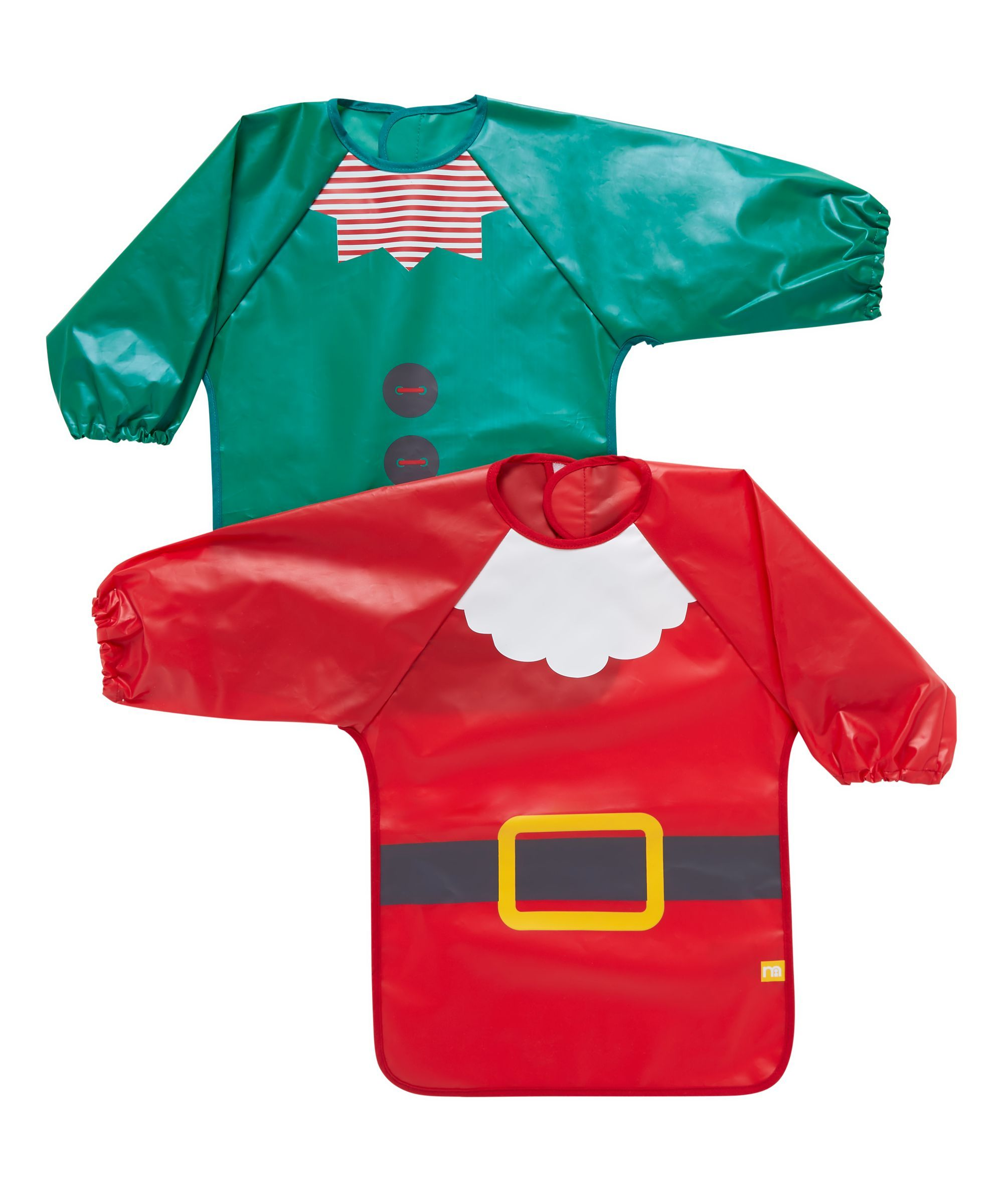 Mothercare Santa and Elf Christmas Coverall - 2 Pack  6eebab20d