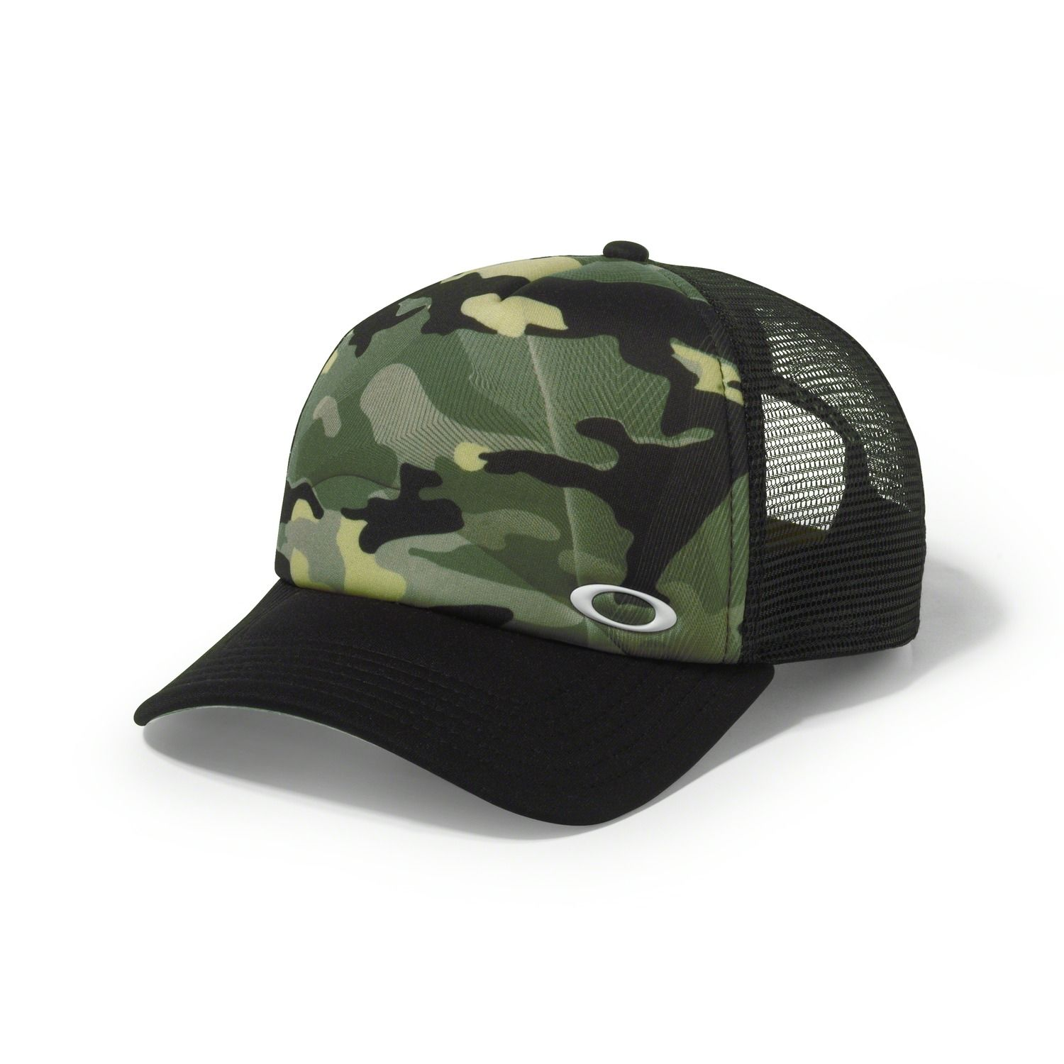 Sublimated Foam Trucker Hat - OLIVE CAMO  8e4fa542287