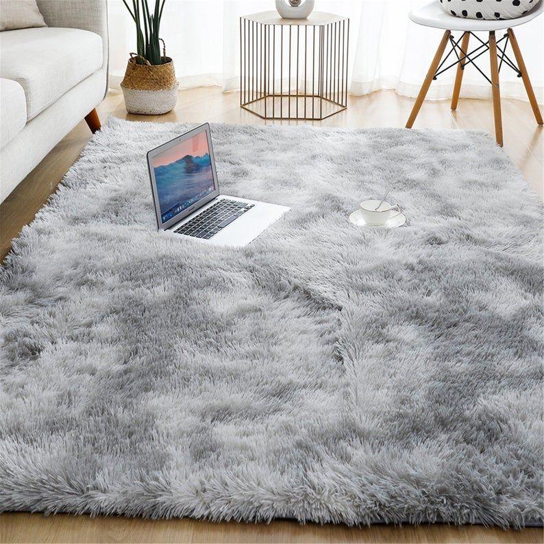 Thick Carpet For Living Room Plush Rug Children Bed Room Fluffy Floor Carpets Window Bedside Home Decor Rugs Soft Velvet Mat In 2020 Living Room Carpet Plush Rug Rugs In Living Room