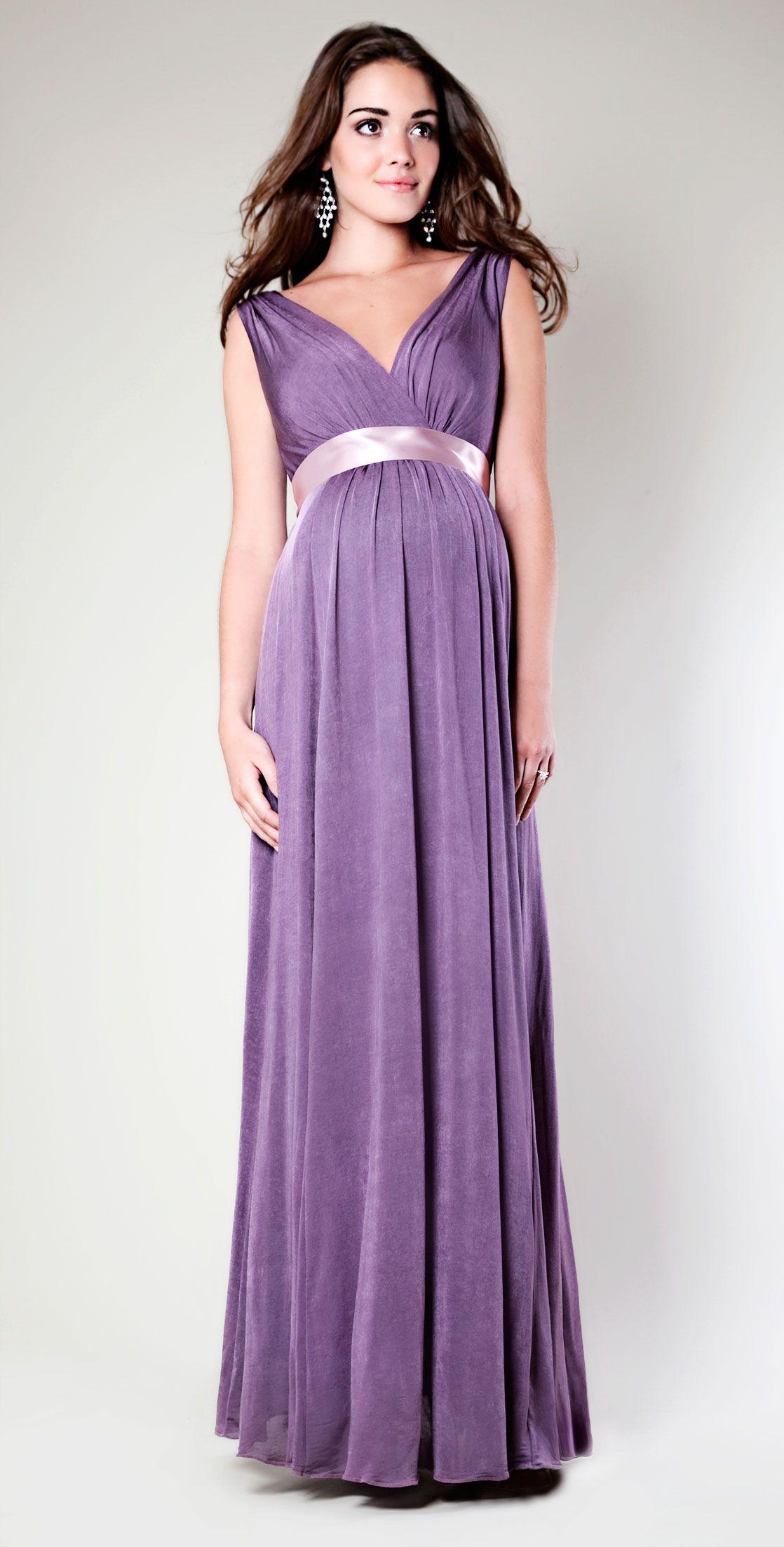 Anastasia Gown Long | Vestidos embarazada, Embarazo y Vestiditos