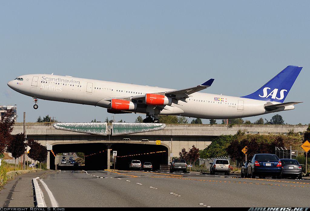 Thebestofflying Scandinavian Airlines Sas Airbus A340 313 Scandinavian Airlines System Airbus Sas Airlines