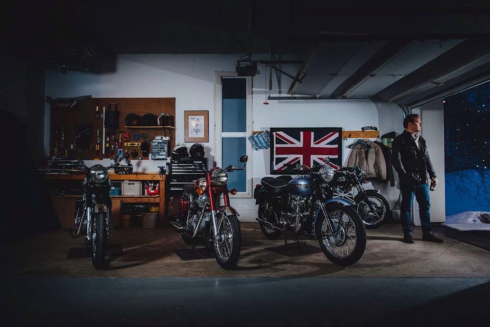 Pin By Rolf Skala On Garage Workshop Cafe Racer Motorcycle Workshop Honda Cb