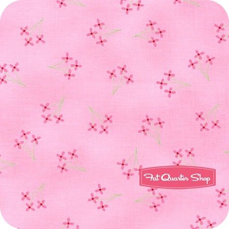 Celebration Pink Flowers Yardage SKU# 2862-14