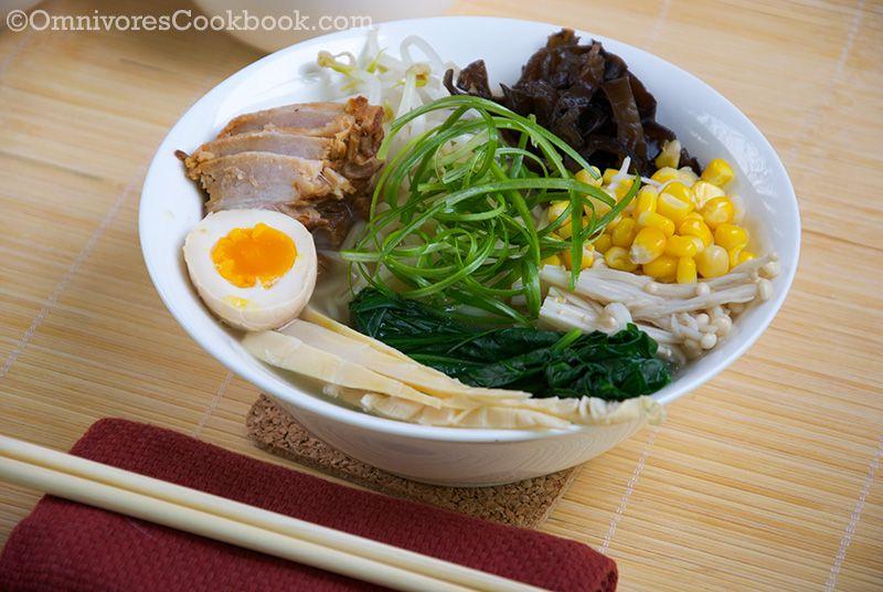 Tonkotsu Ramen   Japanese   Ramen recipes, Tonkotsu ramen ...