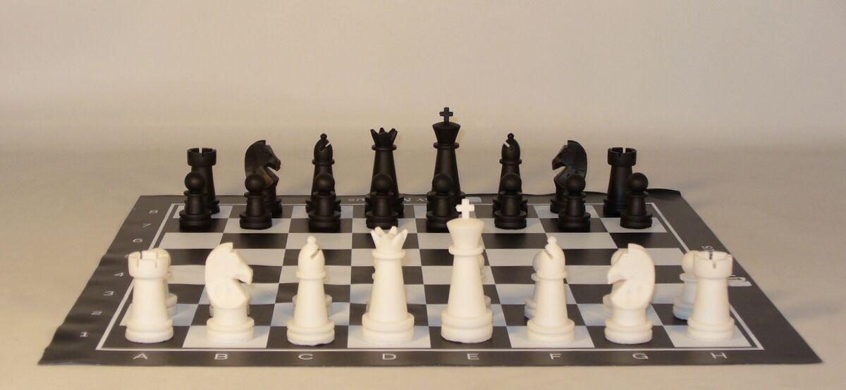 Magnus Carlson Tournament Teaching Chess Set