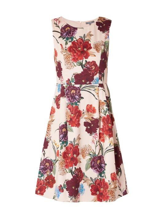 cf84cda4c1b3ff Montego – Kleid mit floralem Muster – Rosé | Pretty Things
