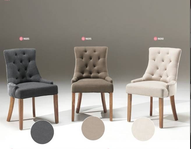 Chaise Capitonnee Confort Interieur Chaises Salle Manger Capitonnees Home Decor Home Dining Chairs