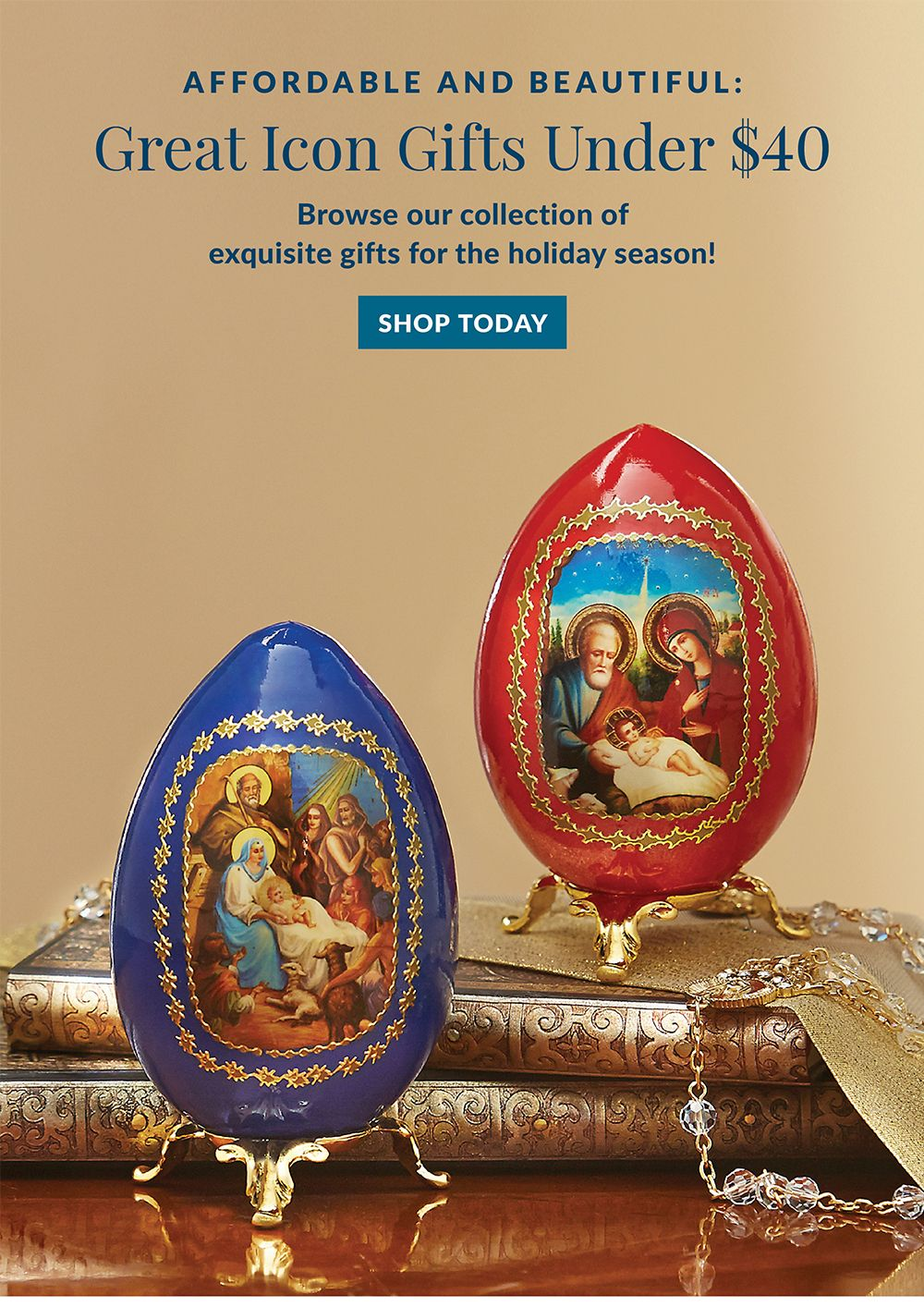 Affordable and beautiful: Great icon gifts under $40 from Monastery Icons Visit: https: