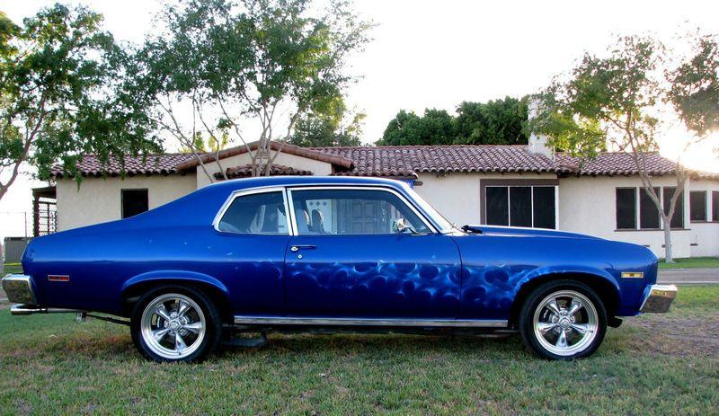 74 Nova, use to own one, bought brand new midnight metal flake blue ...Rita B.