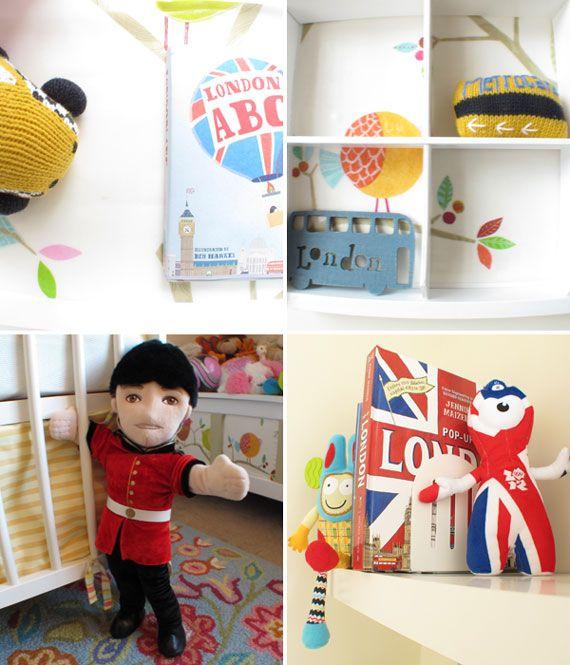 London nursery touches