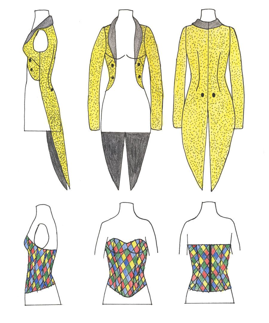 columbia's tailcoat and corset @caitlyn sweeney sweeney sweeney vohs