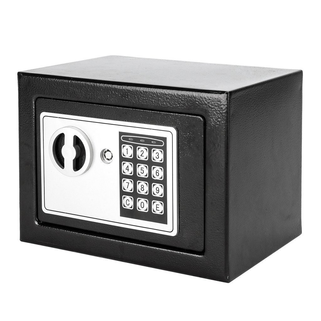 17E Home Use Electronic Password Steel Plate Safe Box