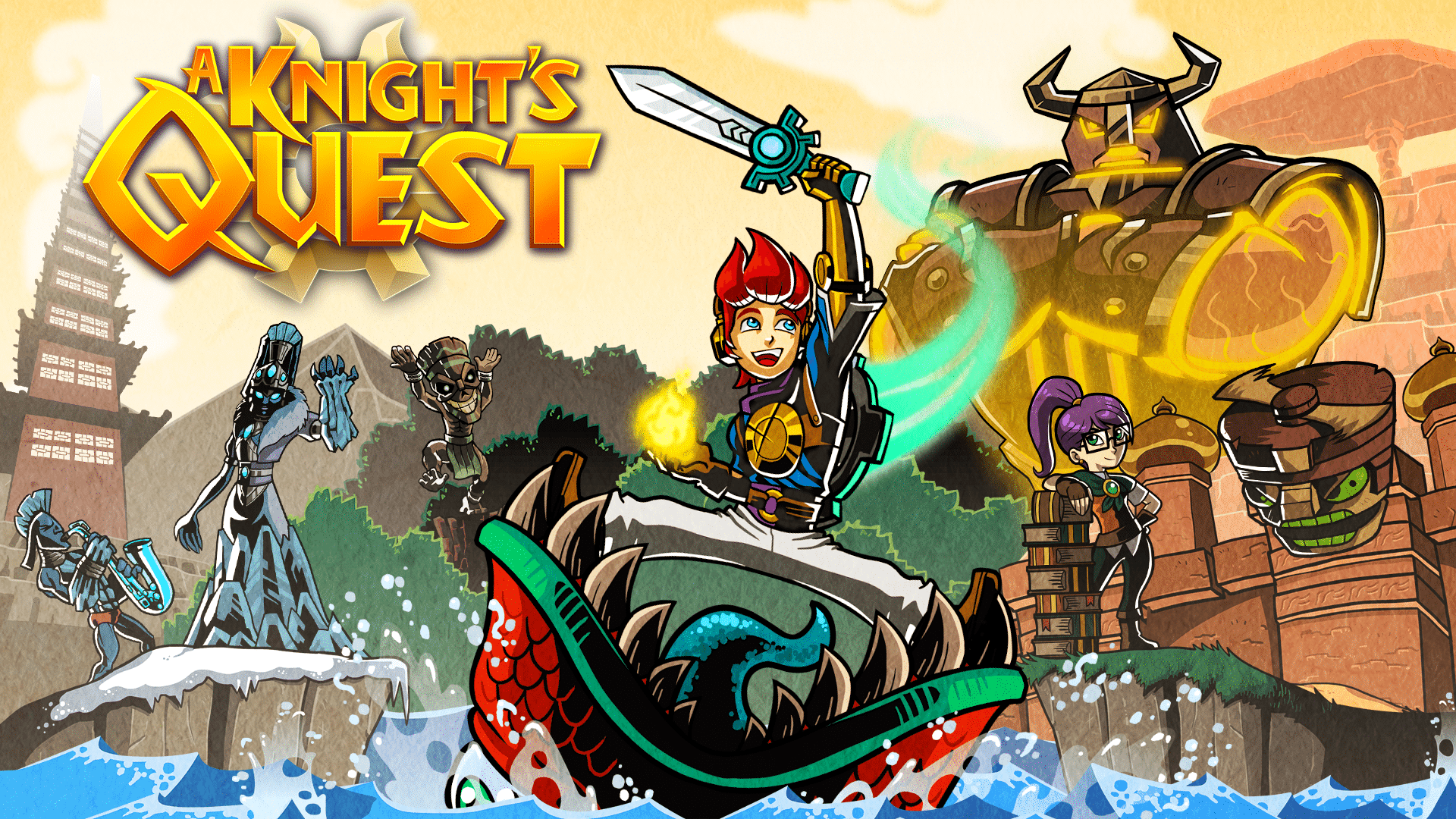A Knight S Quest Releases October 10th Nintendo Switch