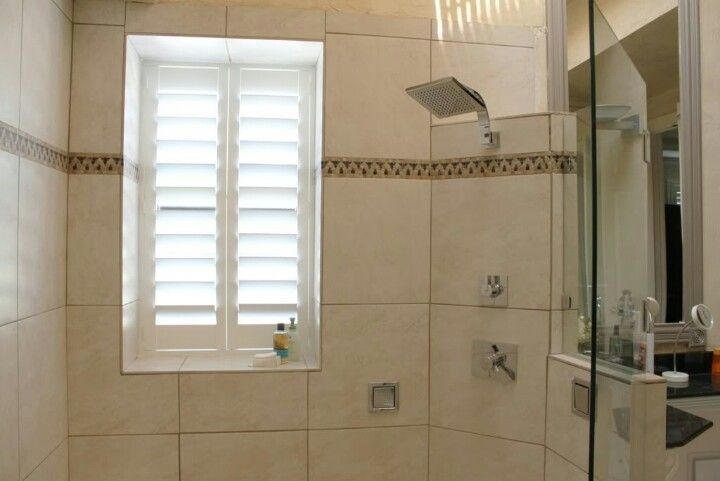 Vinyl Shutters For The Bathroom Solve The Unfortunate Window In