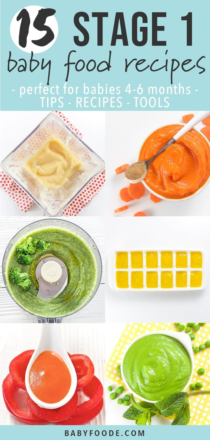 15 stage one baby food purees 46 months baby foode