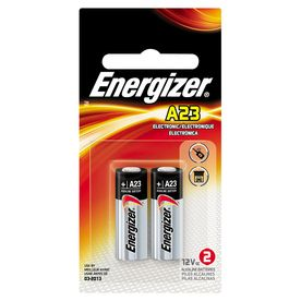 A23 Battery Energizer 2 Pack Specialty Specialty Batteries Garage Door Remote Energizer Garage Door Opener
