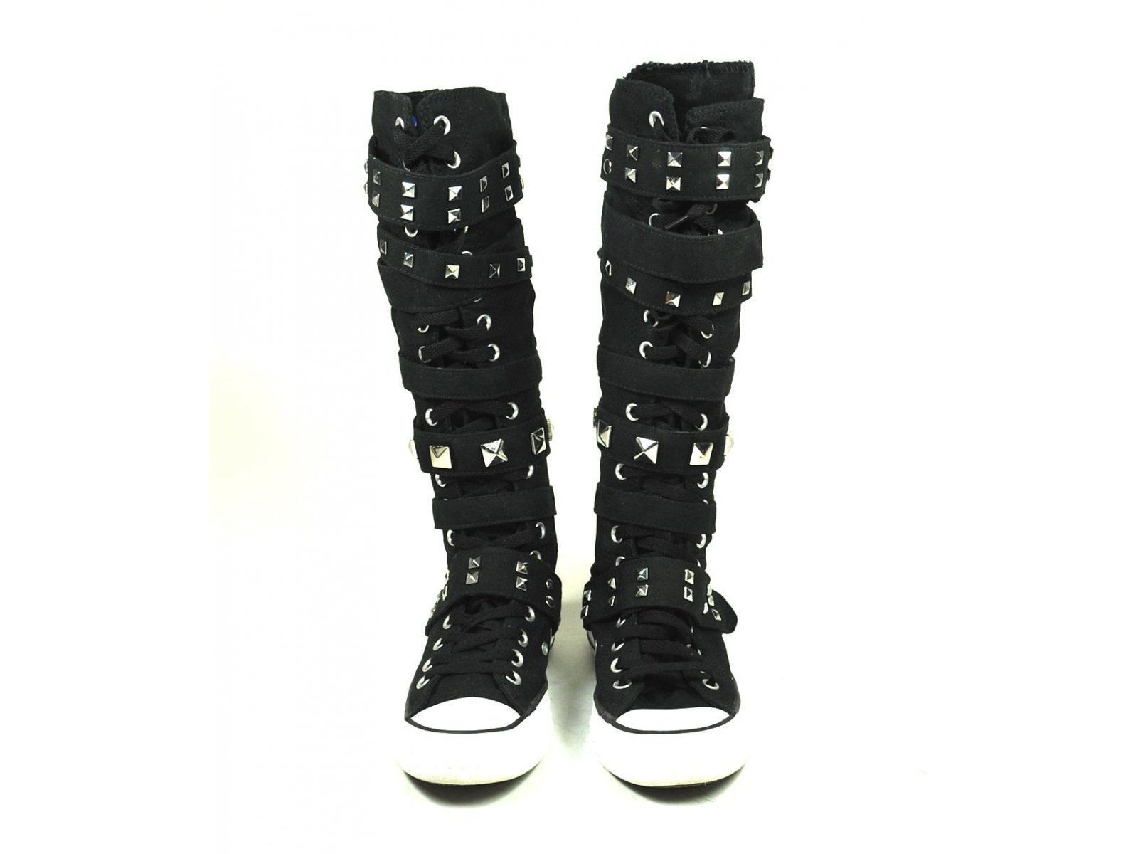 2be99e7a84b79a Converse Knee high Sneaker Chuck Taylor buckle