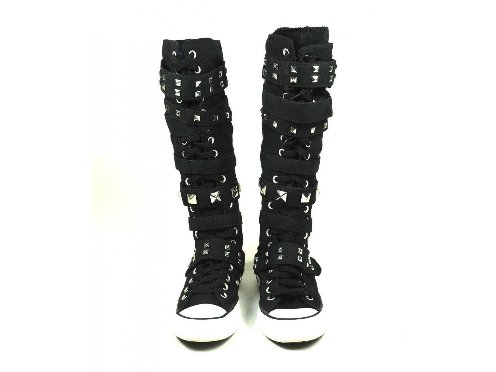 knee high converse chuck taylor