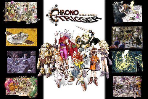 Robot Check Chrono Trigger Poster Prints Anime Facebook Cover Chrono trigger wallpaper hd