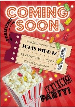 Wenn Die Marvel Helden, Die Minions, Shrek Oder Andere Im Film Am  Geburtstag Eine Rolle Spielen: Lustige Einladung Zum Kino Kindergeburtstag  Mit Popcorn Und ...
