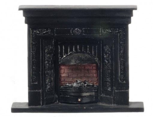 Dollhouse Miniature fireplace and more