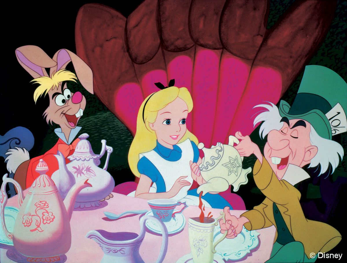 Why We Re Mad About The March Hare Disney Alice In Wonderland