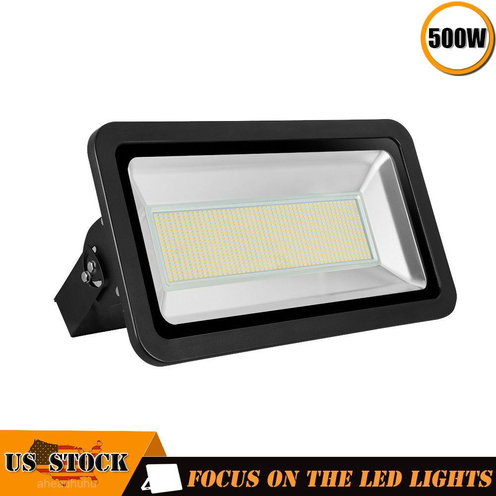 1 X500w Led Flood Light 110v Outdoor Spotlights Landscape Garden Yard Warm White Led Flood Lights Led Flood Flood Lights